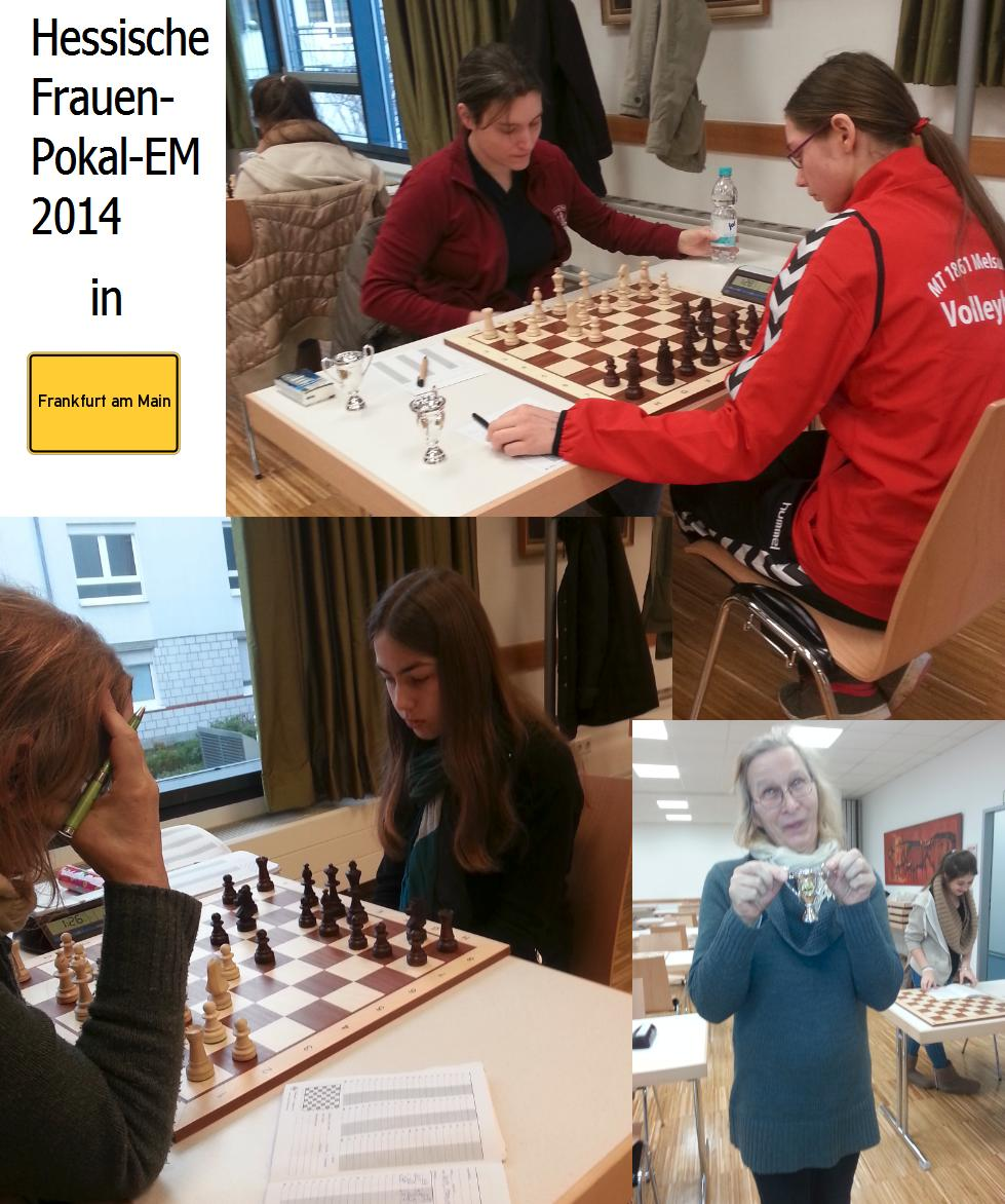 Bericht von der Hessischen Frauen-Pokal-EM 2014, Manuela Wich ist Pokalmeisterin 2014
