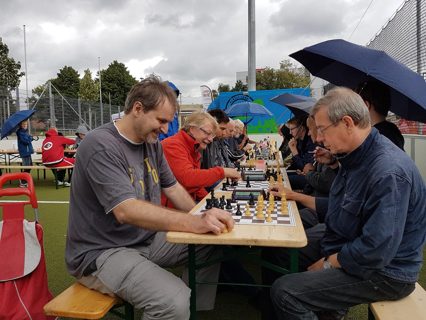 Hessischer Schachverband auf dem Familiensportfest