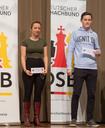 IM Elisabeth Pähtz und FM Pascal Neukirchner sind Deutsche Meister im Schnellschach