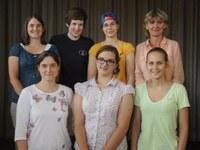 Jutta Ries ist Hessische Frauen-Schnellschachmeisterin, Leonore Poetsch ist Hessische Frauen-Blitzeinzelmeisterin