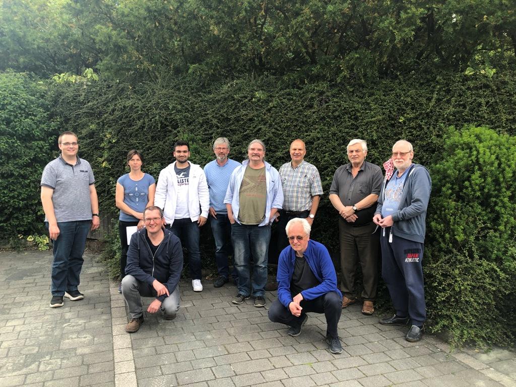 Sieben neue C-Trainer im Hessischen Schachverband