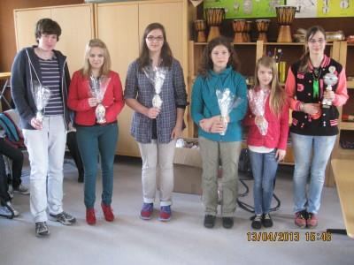 Alle Spielerinnen der B-Gruppe