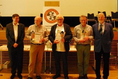 Siegerehrung 12.offene Int.Hessische Seniorenmeisterschaft 2016